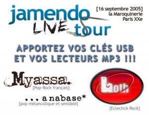 Concert Creative Commons à Paris