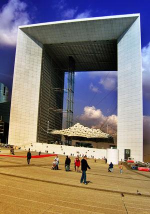 La Défense et l'Arche