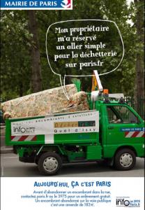 Paris: Nouvelle campagne de propreté