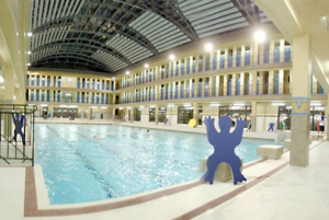 Ouverture de la piscine patinoire pailleron for Piscine patinoire