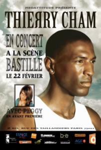 Thierry Cham - Concert à la scène Bastille