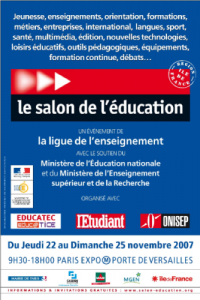 Salon de l'éducation