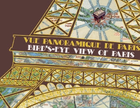 Carte touristique de Paris