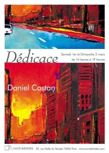 Daniel Castan au Carré d'artistes