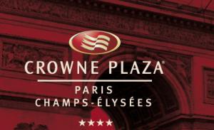 Ouverture Hotel Crowne Plaza Paris Champs Elysées