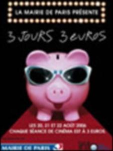 Cinéma Paris : 3 jours, 3 euros