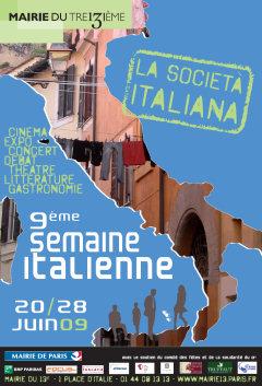 9ème édition de la semaine italienne à Paris