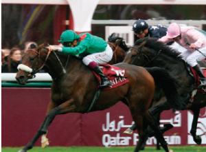 Qatar, prix de l'arc de triomphe